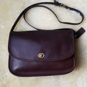 Coach City Bag 9790, chocolate brown